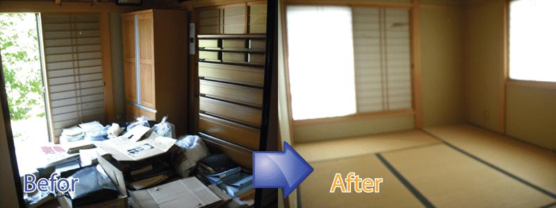 ご遺族にかわって遺品整理のお手伝いから不用品回収を東京都全域で承ります